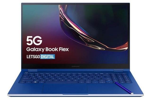 Galaxy Book Flex 5G曝光,预计将于10月推出!