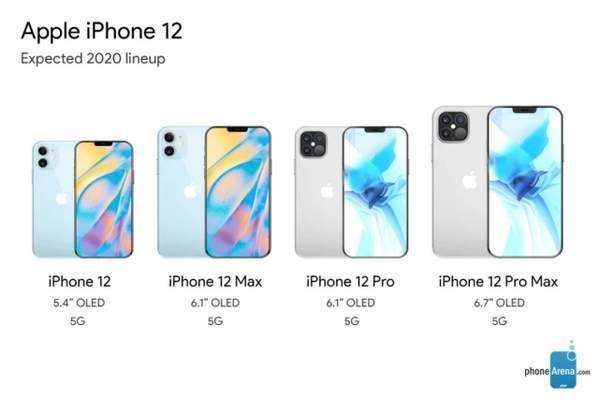 iPhone12发将在10月下旬发布,苹果今年备货6800万部