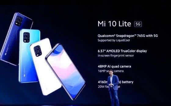 小米Mi10Lite最新曝光:价格约2760元,将在日本发布