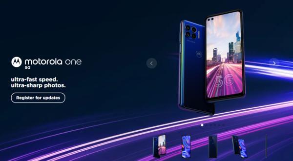 摩托罗拉新机One 5G曝光:90Hz刷新率+骁龙765G处理器