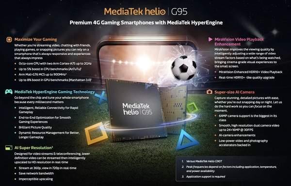 Helio G95相当于骁龙多少?处理器性能怎么样?