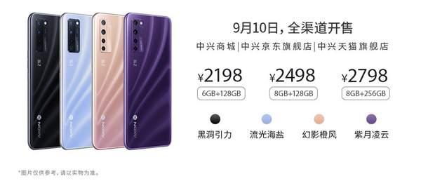 中兴Axon20全球首款屏下摄像手机正式开售,你准备好了吗?