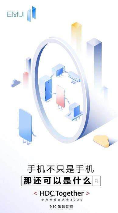 华为EMUI 11系统今日发布,主打三大特性