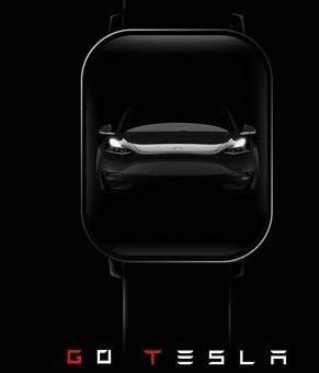華米新款智能手表曝光,將與特斯拉聯名合作