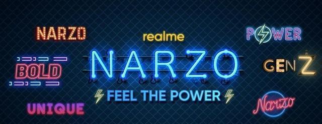 realme Narzo 20系列曝光:共有三款机型推出