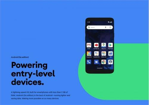 Android 11 Go正式发布:主打入门机型,速度提升20%