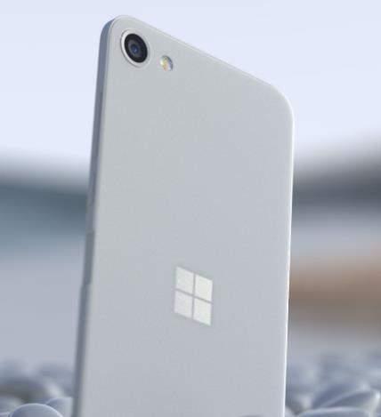 SurfaceSolo手机概念图曝光:打孔屏+超薄机身