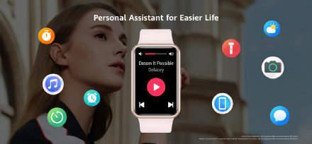 华为watch fit:最好看的一款运动手表