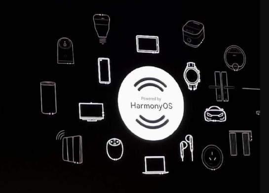 华为鸿蒙OS Logo曝光:万物互联