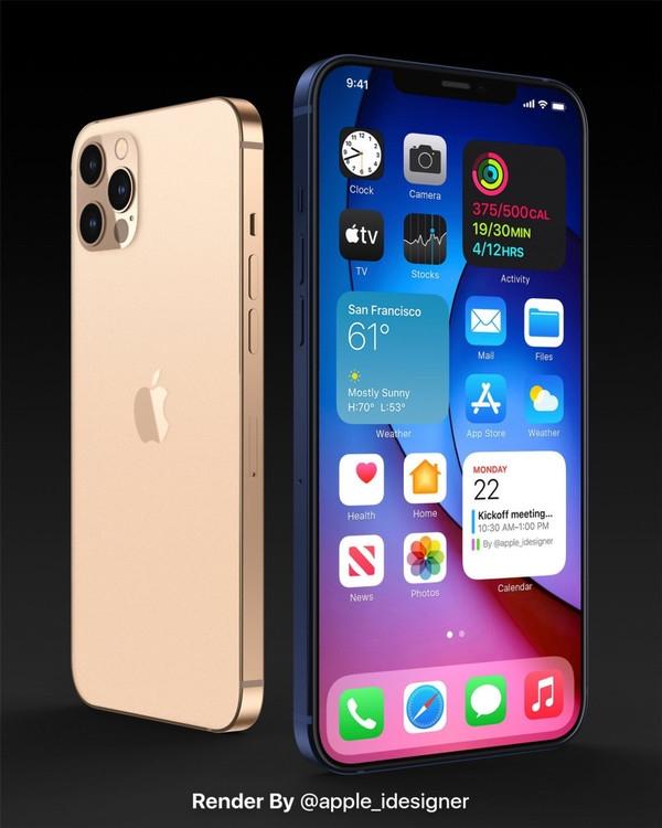 iPhone12系列最新渲染图曝光,刘海还在但价格是假的吧?