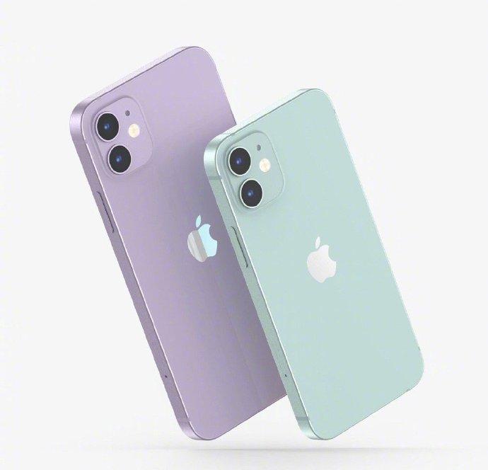 iphone12多款配色真机外观图曝光,你中意哪一个?