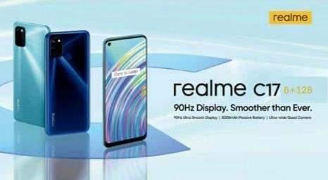 realmeC17最全参数曝光:骁龙460+90Hz高刷屏
