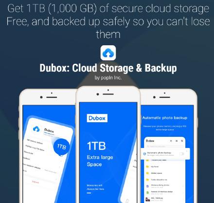 百度在海外推出1TB不限速網盤產品Dubox