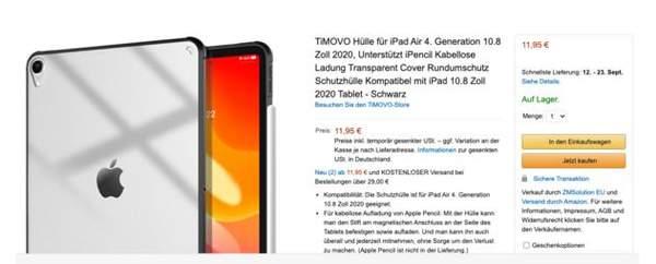 iPad Air4最新曝光:确认采用USB-C接口,将在今晚发布