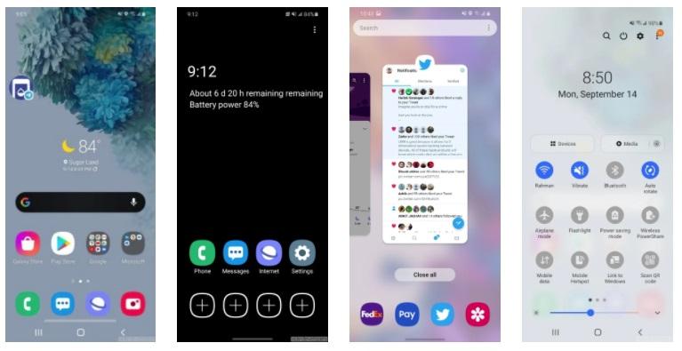 三星One UI 3.0曝光,中国用户晚些才能体验