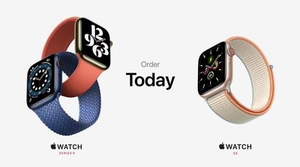 Apple Watch 6/SE耐克联名款发布,价格未变可选表壳表带