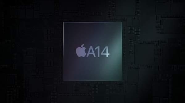 苹果发布5纳米A14仿生芯片,性能提升近40%
