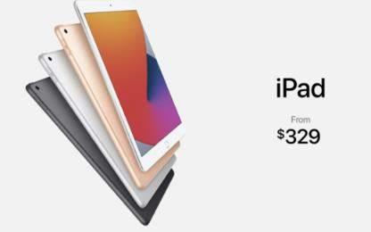 iPad8正式发布:10.2英寸+A12处理器价格2230起