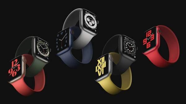 apple watch series 6发布,国内售价3199元