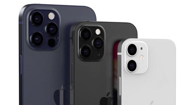5.5英寸的iPhone12mini刘海变小,其他版本不变