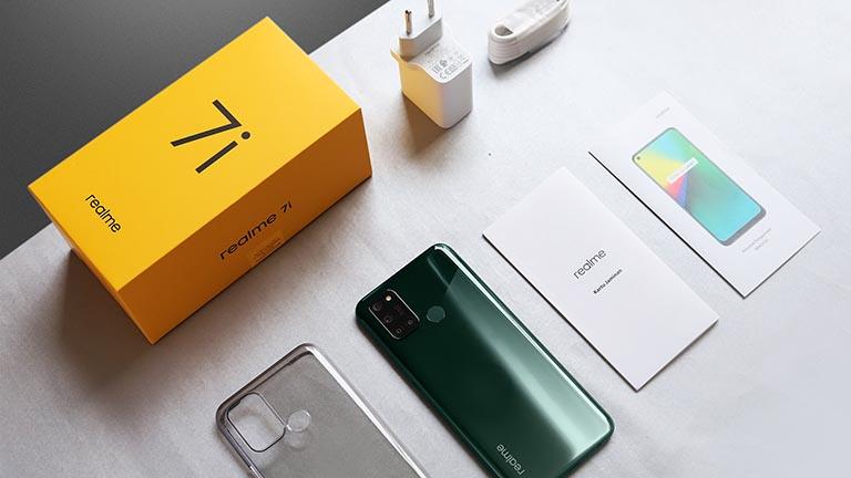 Realme7i已正式上市,售价为1462元