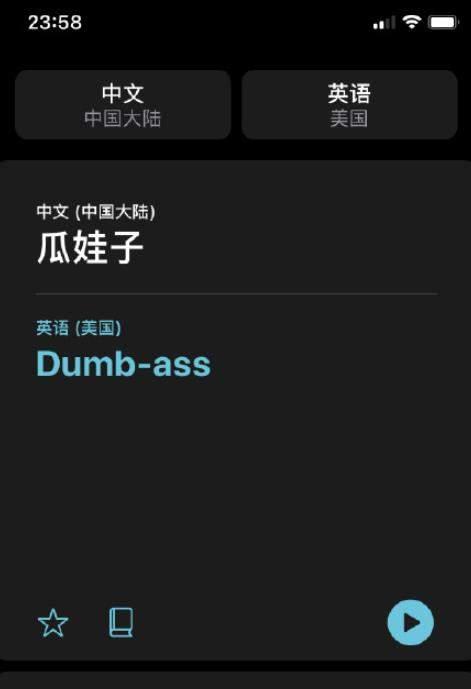 iOS14的翻译太懂了!网络流行语也能识别!