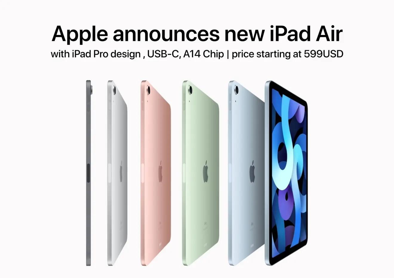 iPadAir4对比iPadAir3对比,iPadAir4值得入手吗