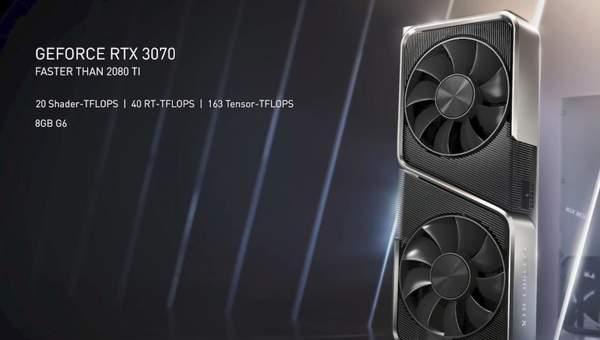 RTX3070显卡发售时间价格表,划算到必须要入手!