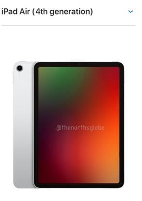 iPad Air 4渲染图曝光,外观类似iPad Pro