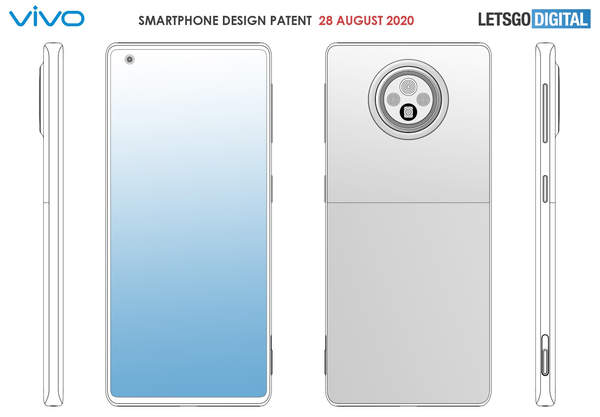 vivo新专利曝光,可物理按键变焦的手机
