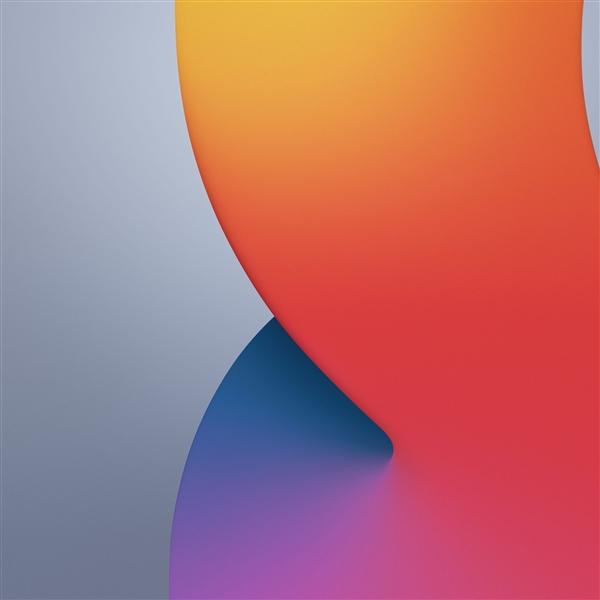 iPhone12体验卡,苹果iOS14官方原生壁纸流出