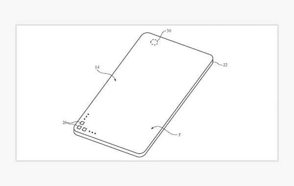 苹果全面屏新专利曝光,iPhone的屏下摄像头来了