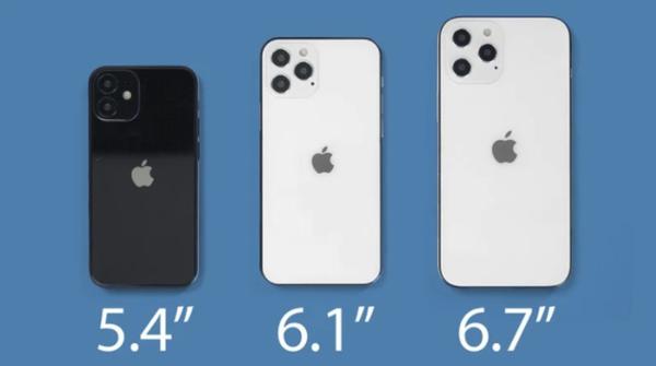 5.4英寸小屏iPhone12到底叫什么?可能叫iPhone12mini