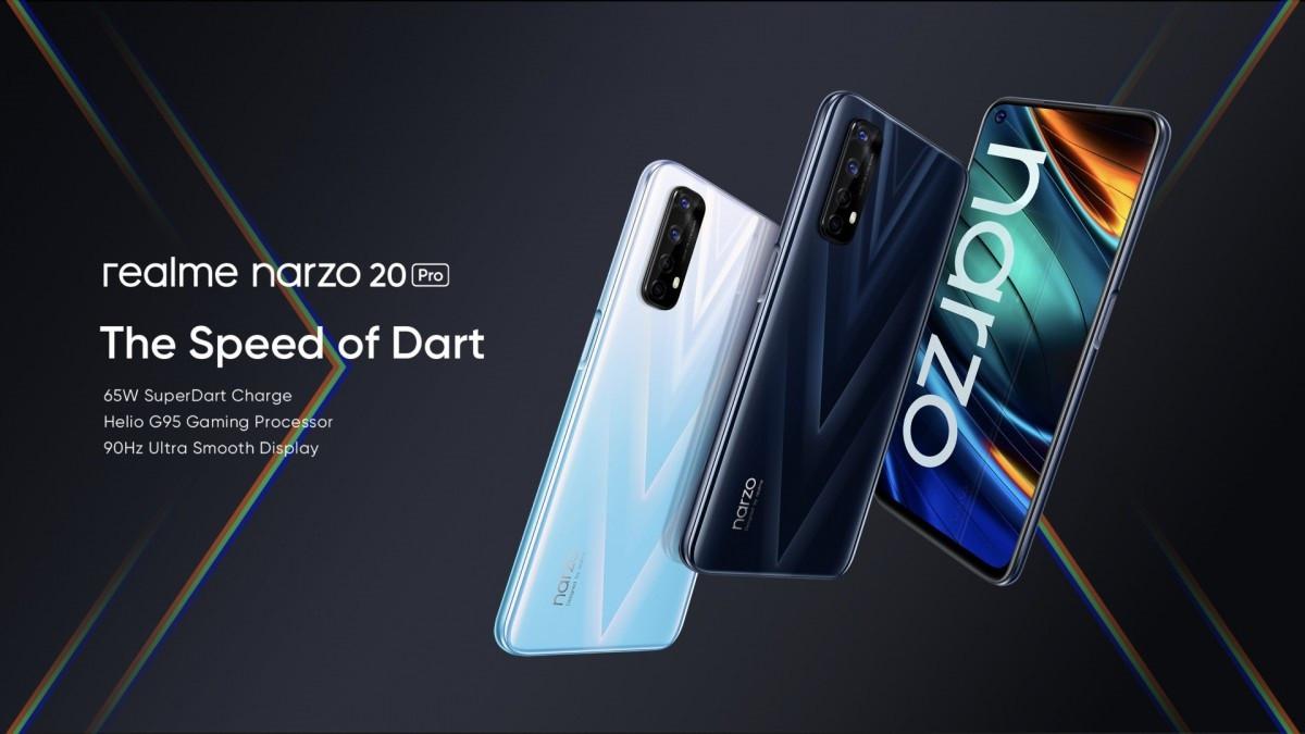 Realme Narzo 20系列正式发布,手机参数配置价格一览