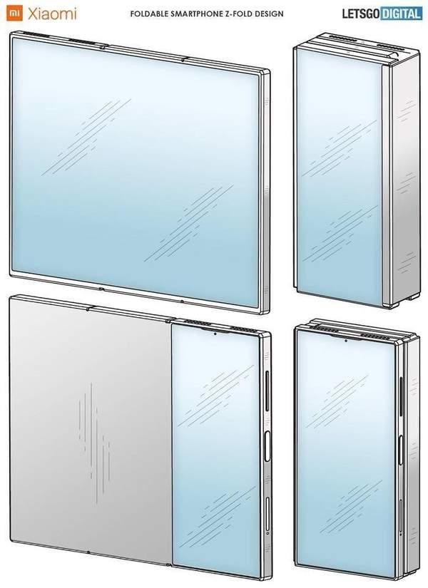 小米三折叠屏手机专利曝光:或将2021年初推出