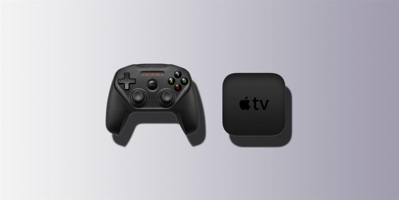苹果Apple TV将推出全新游戏手柄,采用白色配色