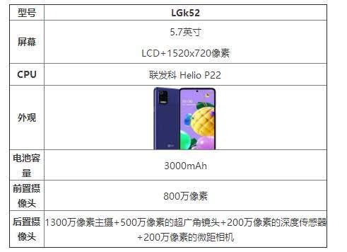 LGk52参数配置详情_LGk52手机怎么样