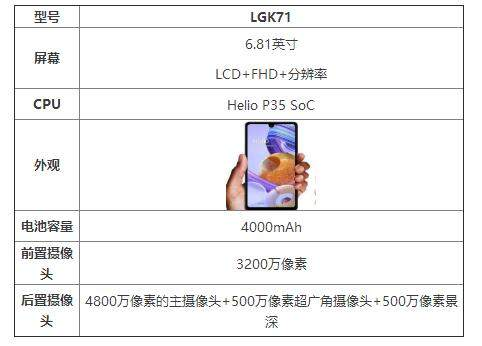 LGK71参数配置详情_LGK71手机怎么样