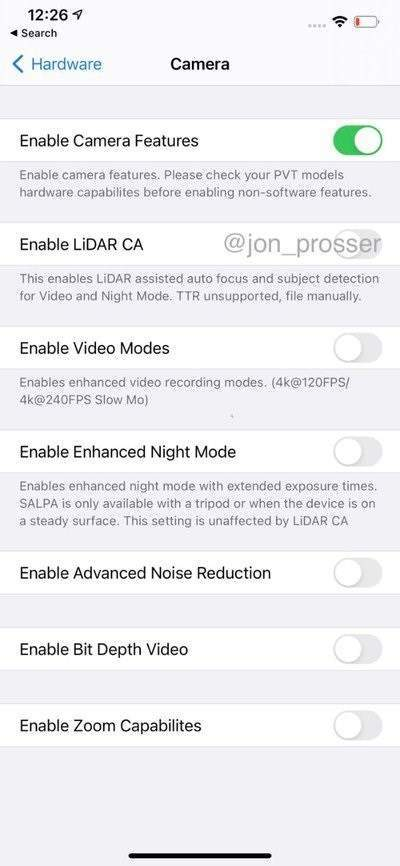 曝iPhone12Pro机型或推迟发布,只因加入了LiDAR