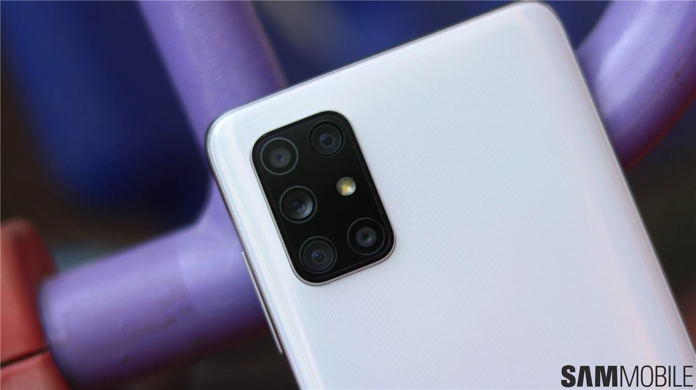 三星GalaxyA72相机曝光,首次搭载后置五摄