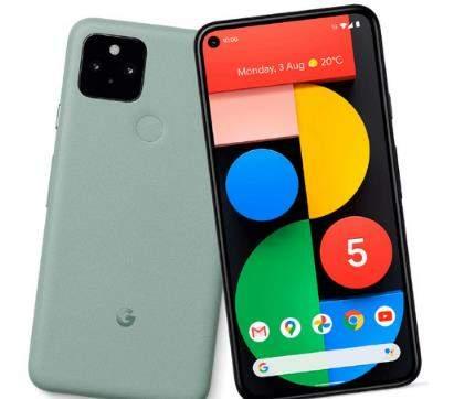 谷歌Pixel5外观最新曝光:新增两款配色
