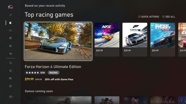 微软上线全新Xbox商城:让用户体验更完美