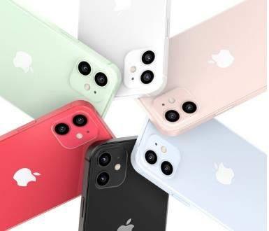 iPhone12系列渲染图最新曝光:粉色和绿色配色最吸睛