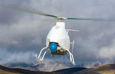 AR-500C高原首飞成功,创下国产无人直升机起降高度新纪录