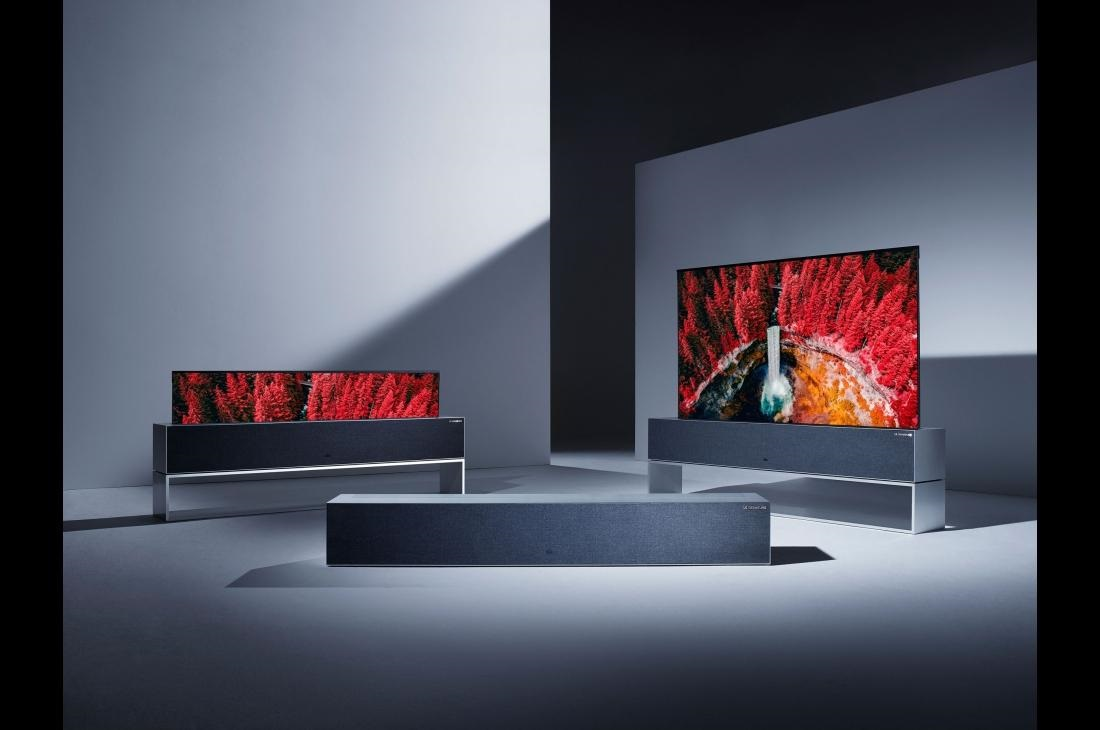 LG全球首款可卷式电视下月上市,今年最贵电视出现!