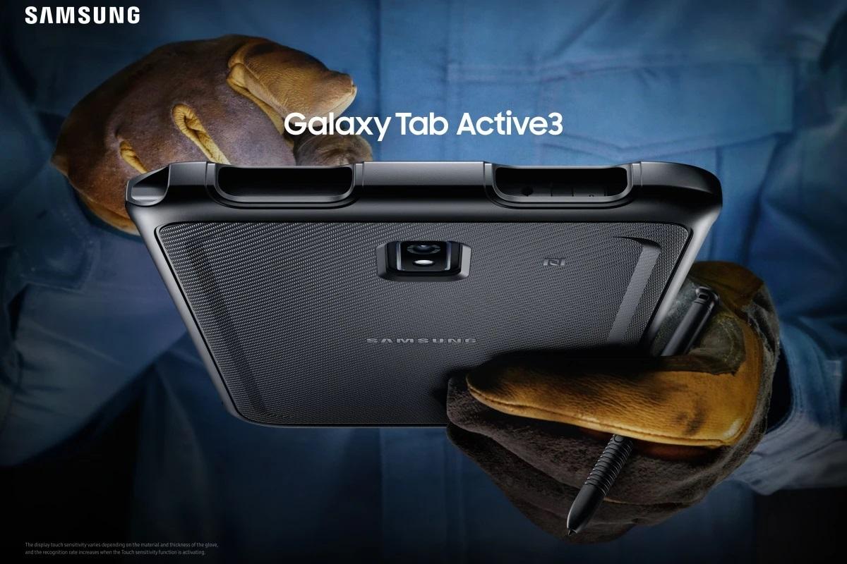 GalaxyTabActive3正式发布:IP68防水+1080P屏幕
