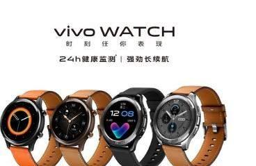 vivo WATCH今日正式开售,一图带你了解全系亮点