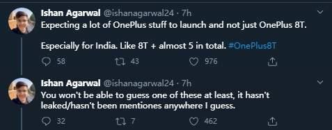 不止一加8T?一加还将发布多款新品