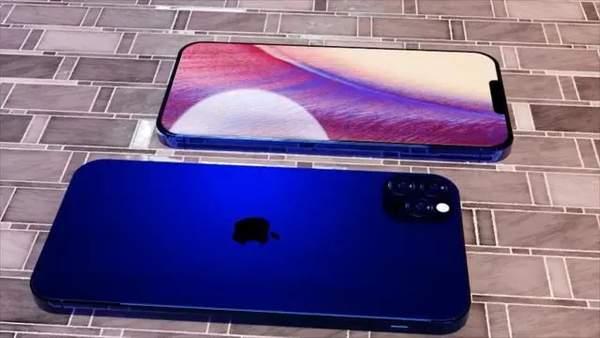 iPhone12Pro概念图偷跑,小刘海屏+后置四摄模组