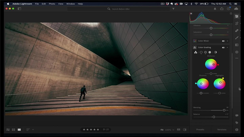 Adobe Lightroom系列新功能:全新的色彩分級系統